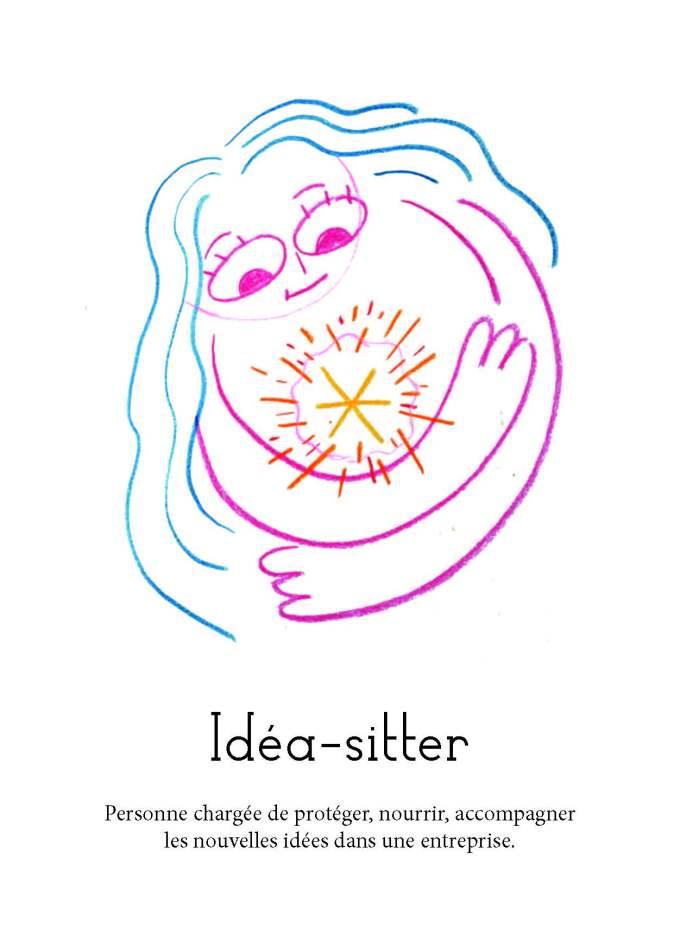 Le dictionnaire | 8 | carte Ideasitter | BD