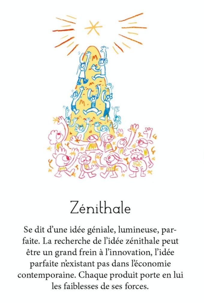 Le dictionnaire | 9 | carte zénithale | BD